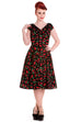Cherry Pop 50s Dress (XS ONLY) - Natasha Marie Clothing