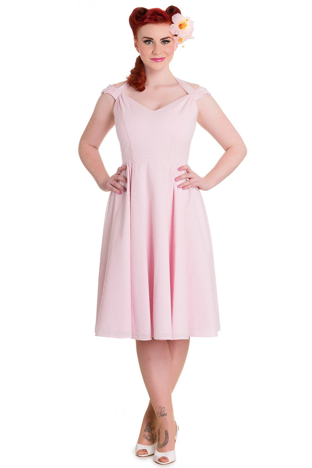 Eveline Dress in Pink