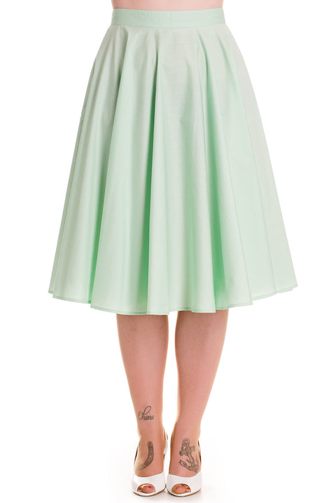 Paula Skirt in Mint