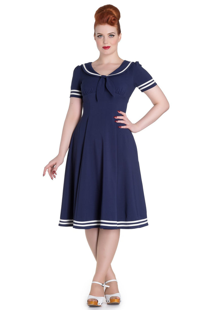 Ambleside Dress in Navy