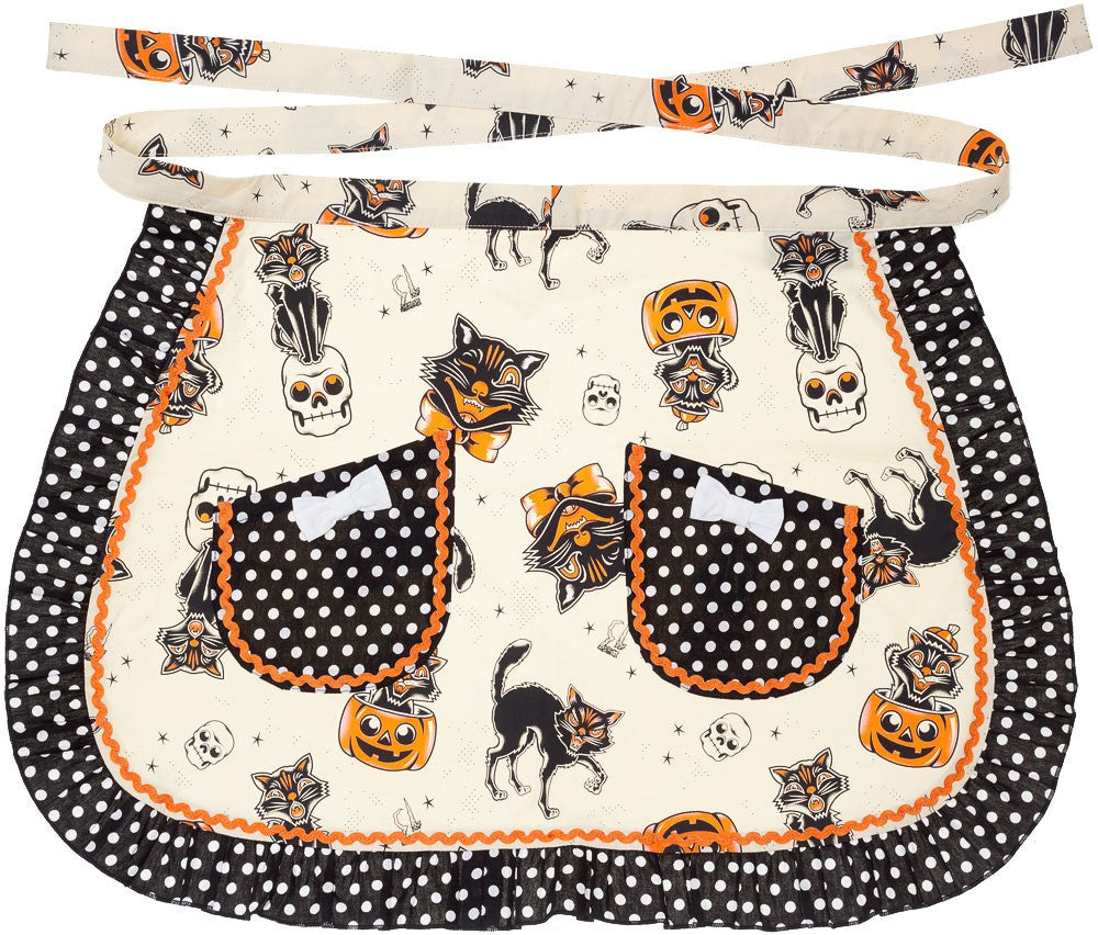 Black Cats Apron