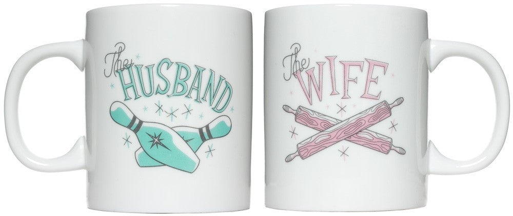 Husband/Wife Mug Set