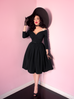 Starlet Swing Dress in Black - Natasha Marie Clothing