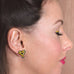 Tape Measure My Love Heart Studs - Natasha Marie Clothing