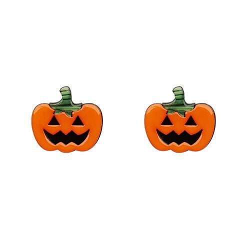 Jacks O'lantern Earrings