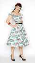Jodi Dress in Home Sweet Home Print