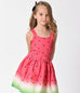 Kids Watermelon Ombre Dress