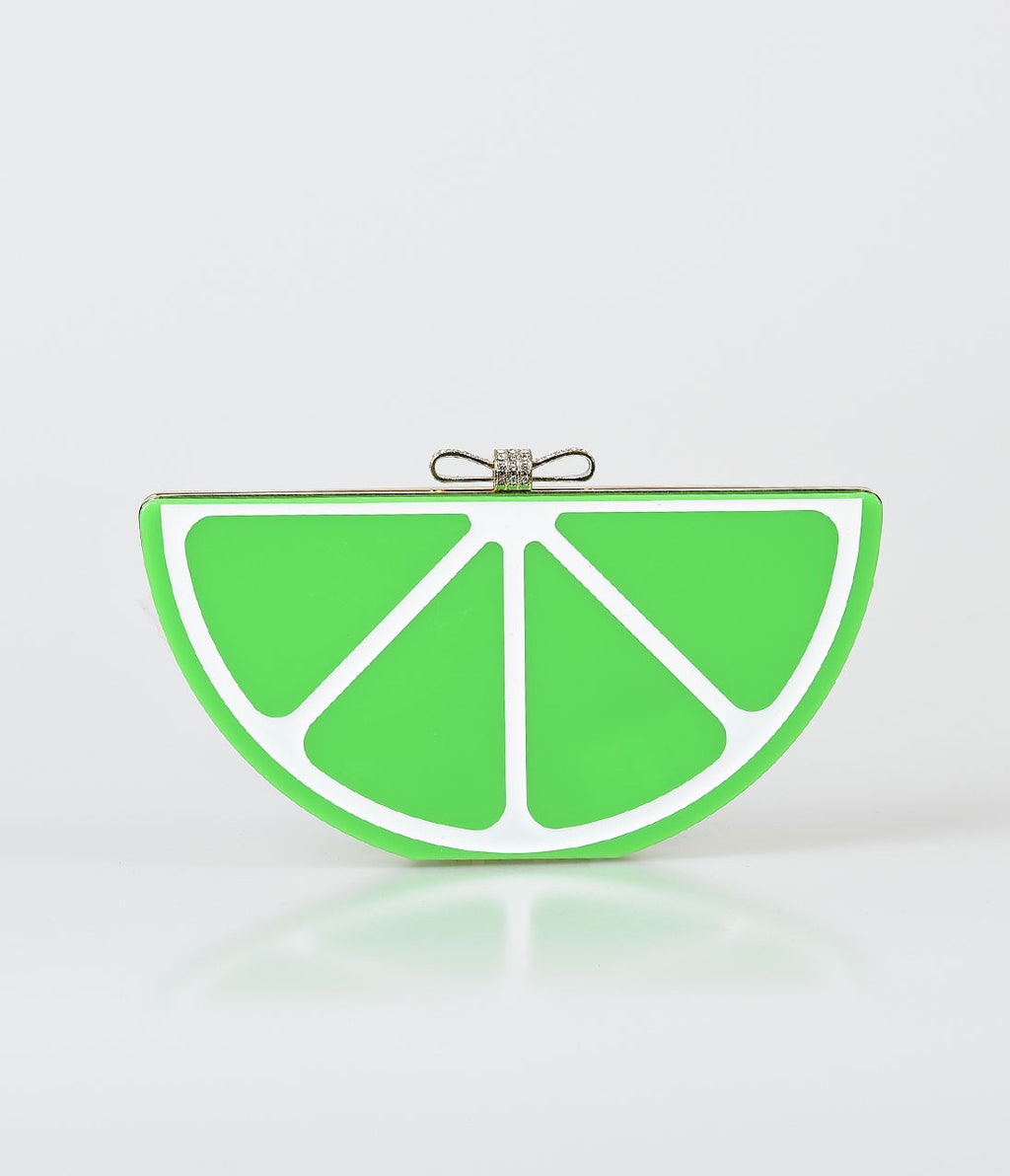Lime Slice Purse