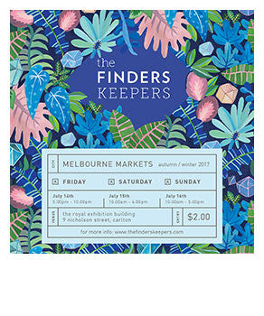 The Finders Keepers Melbourne AW17 Market