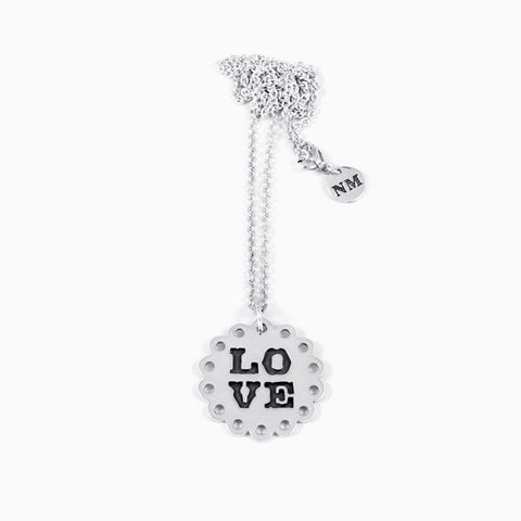 Classic Love Necklace<br/>Sterling Silver