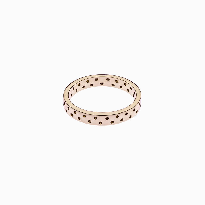 Polka Dot Ring in Rose Gold Plate Naomi Murrell