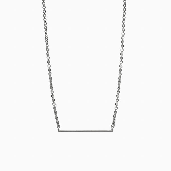 Horizon Necklace in Sterling Silver by Naomi Murrell