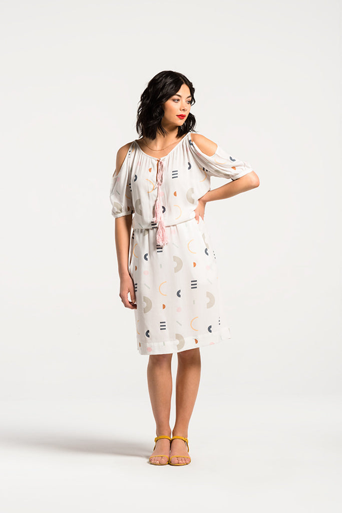 Gala Dress<br/>Amusement Park Print