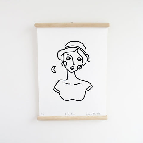 Aphrodite, Screen Print - SOLD OUT.