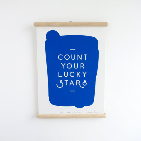 Count Your Lucky Stars, Screen Print