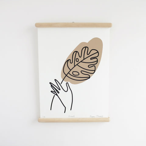 Frond, Screen Print - SOLD OUT