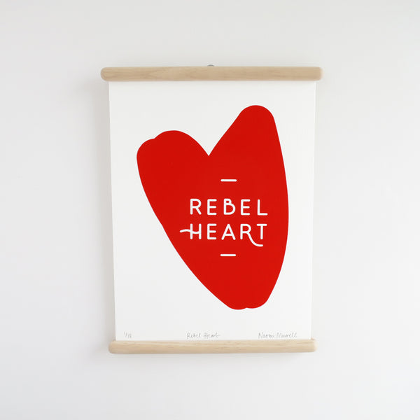 Rebel Heart, Screen Print