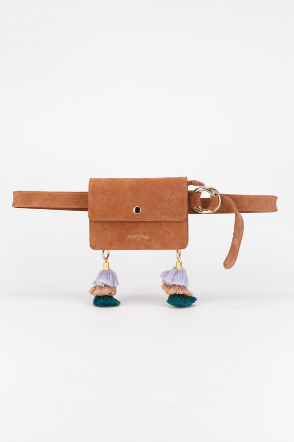 Soneva Belt Bag, Terracotta Suede, The Wolf Gang