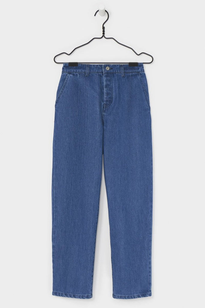 Turnaround Pant, Denim, Kowtow