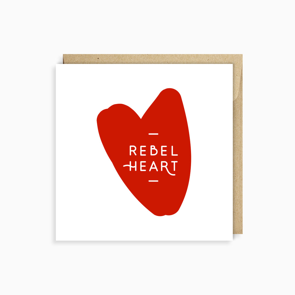 Rebel Heart Card