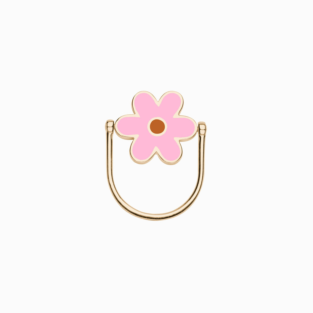 DAISY FLIP RING</br>Milkshake + Cinnamon</br>Golden Brass<br/>50% OFF