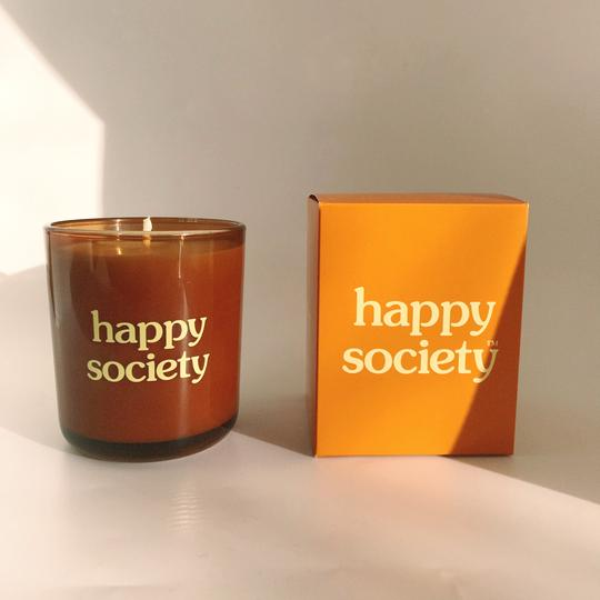 Always Sunny Candle Details by Happy Society