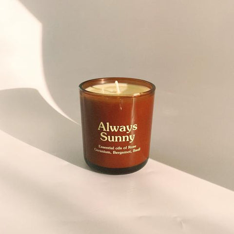 Always Sunny Candle by Happy Society