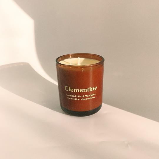 Clementine Candle by Happy Society