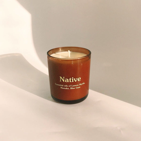 Native Candle by Happy Society