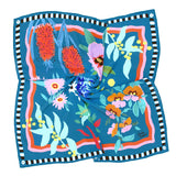Bush Garden Silk Scarf by Julie White
