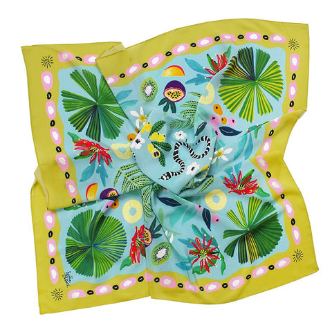 SUNSHINE SILK SCARF<br/>Julie White