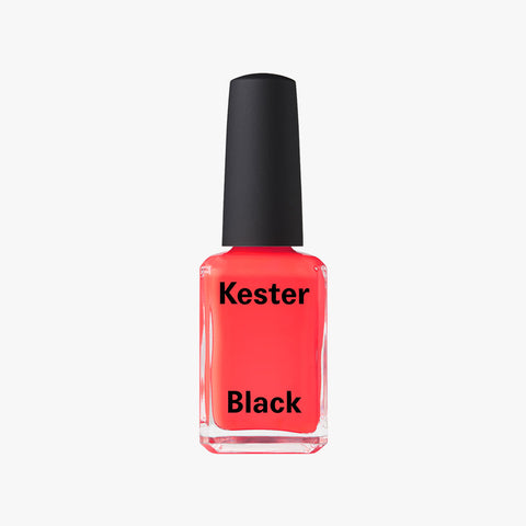 Nail Polish in Coral Red by Kester Black