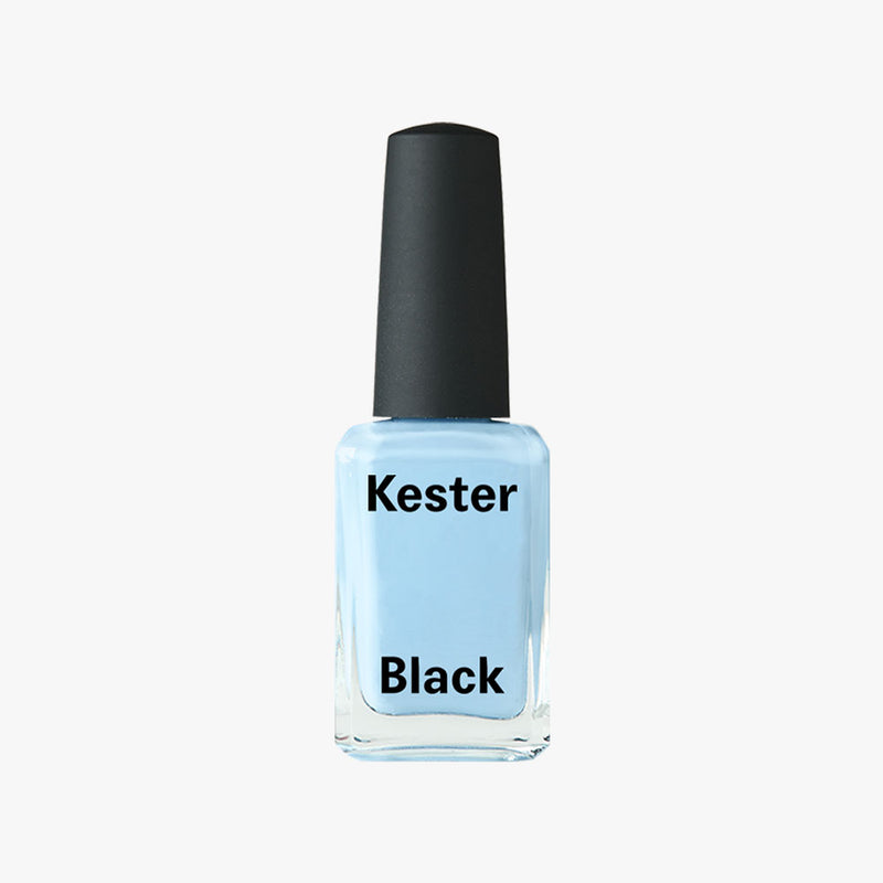 Nail Polish Spill in Cumulus Blue by Kester Black