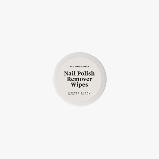 Nail Polish Remover Wipes by Kester Black