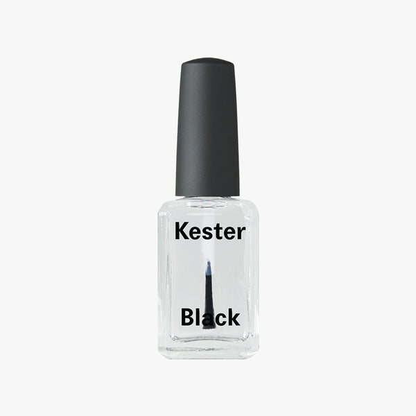 Nail Polish Top Coat by Kester Black