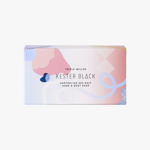 Australian Sea Salt Soap Packaging by Kester Black