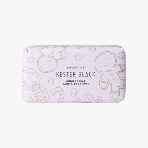 Gingerbread Soap Packaging by Kester Black
