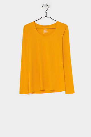LONG SLEEVE TOP<br/>MARIGOLD<br/>Kowtow<br/>