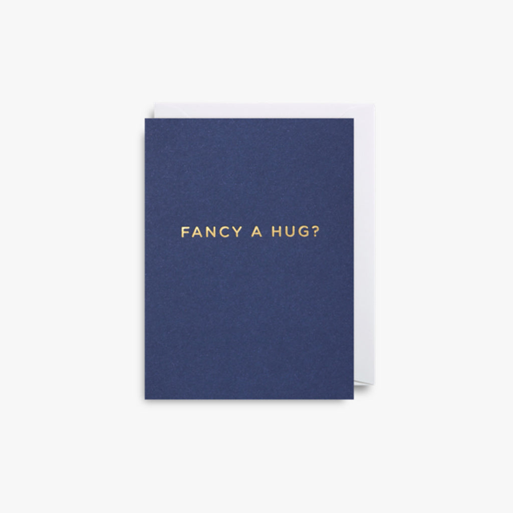 Fancy a Hug? Mini Note Card by Lagom