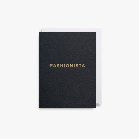 Fashionista Mini Note Card by Lagom