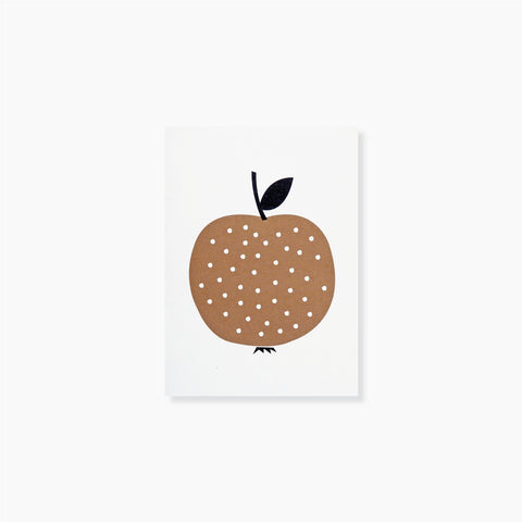 Pomme D'Or Note Card by Michoucas Design