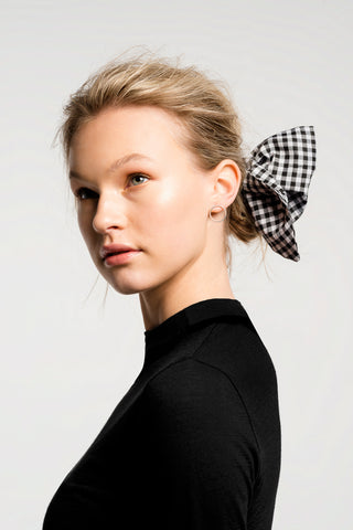 Gingham Hair Bow / Scarf