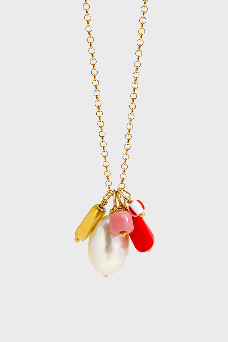 Bonbon Necklace, Strawberry