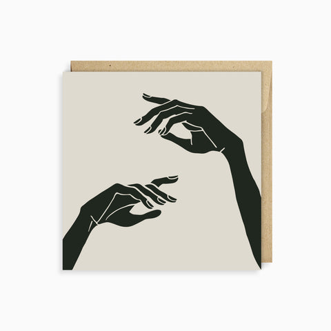 NOTE CARD<br/>HER HANDS