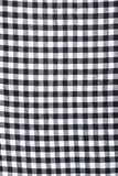 Black and White Gingham Fabric in Cotton