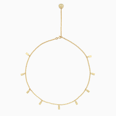 Naomi Murrell Ritual Necklace in Gold Plate