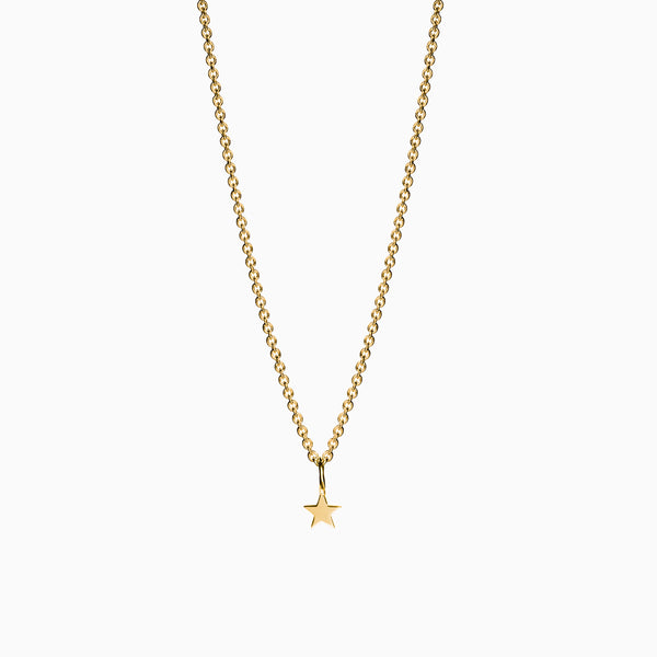 Naomi Murrell Starlight Charm Necklace in Gold Plate