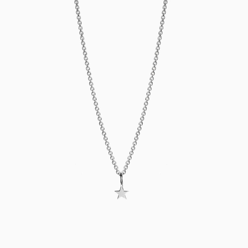 Naomi Murrell Starlight Charm Necklace in Silver