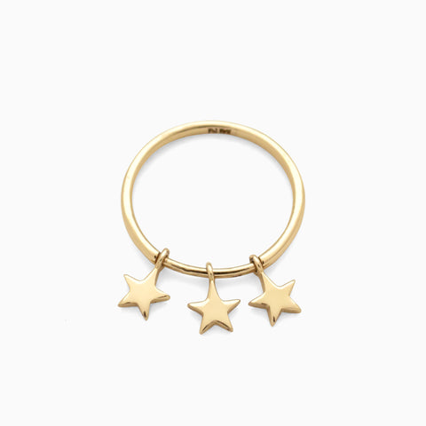Starlight Ring, Golden Brass