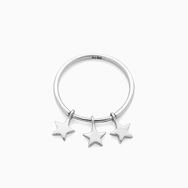 Starlight Ring, Sterling Silver